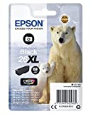 Epson C13T26314012 - Cartucho de tóner adecuado para XP600, color foto negro, XL válido para los modelos Expression Premium XP-820 y otros, Ya disponible en Amazon Dash Replenishment