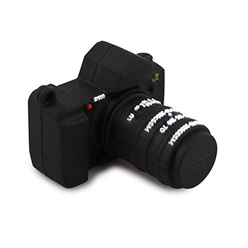kingko® Einzigartige Kamera geformt USB 2.0 Flash-Laufwerk Memory Stick Speicher-Festplatte Digital U Disk (32GB) -