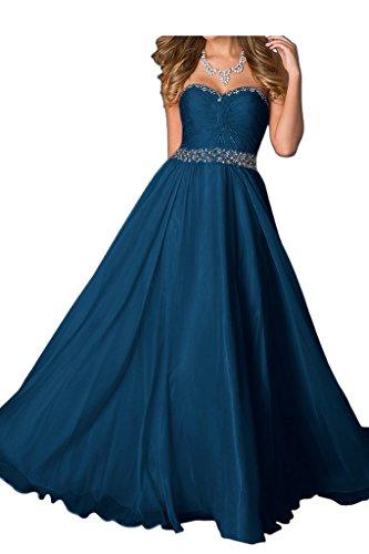 Missdressy - Robe - Trapèze - Femme Bleu - Bleu foncé