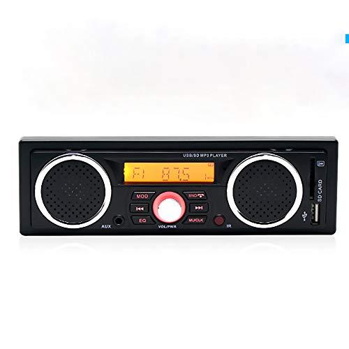 Auto-Lautsprecher 6.1 4-Kanal-Super-Klangqualität, Digital Media Player, Auto-MP3-Player USB/SD/TF/FM/Audio-Empfänger Freisprechen