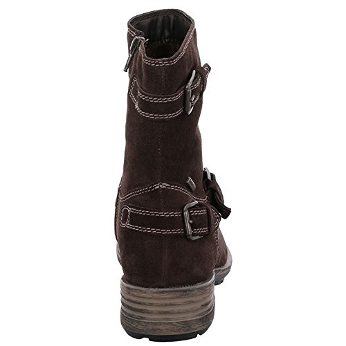 Josef Seibel Ladies Sandra 30 Boots Brown (moro)