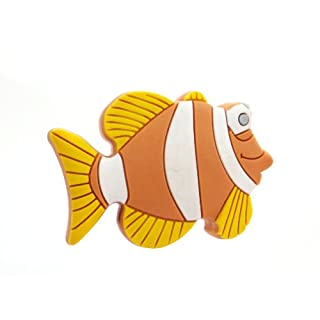 Furniture Handle Furniture Knob Furniture Handle Rubber Grip with Fish Motif Children