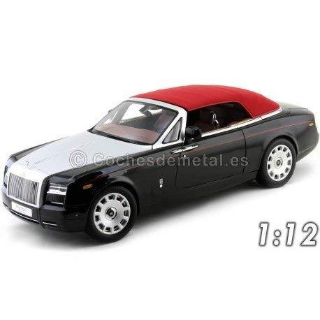 Kyosho-8641dbk-Rolls-Royce Phantom Drophead Cabrio-Maßstab 1/12-Schwarz Diamant - Rolls-royce Phantom Modell
