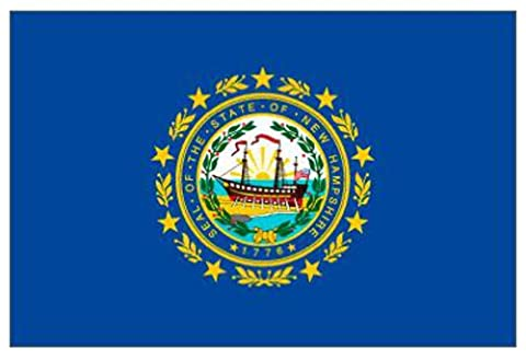 New Hampshire (USA State) Flag 5ft x 3ft