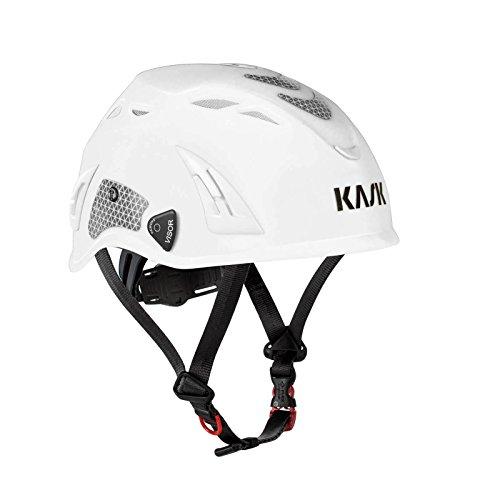 KASK Schutzhelm, Bergsteigerhelm, Industriekletterhelm Plasma HI-VIZ - Arbeitsschutz-Helm EN397, Farbe:weiß