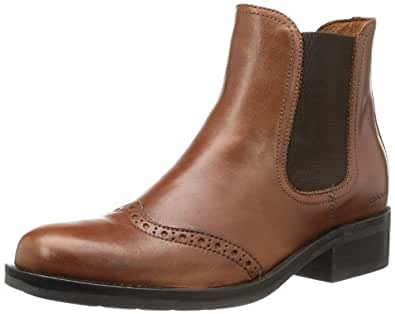 GANT Selma dark cognac leather 45.1010.01.D48, Damen Stiefel, Braun (dark cognac), EU 40