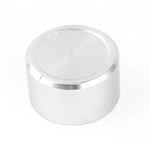 SOURCING MAP Plateado aluminio sólido botones de volumen 38 x 22 mm...