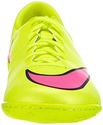 Nike - Mercurial Victory V Ic, Scarpa Da Calcetto da uomo Giallo (volt/hyper pink-black 760)