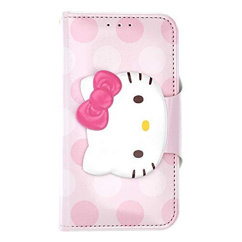 Hello Kitty Sanrio Apple (WiLLBee Sanrio Cute Flip Case für Apple iphone7/iphone8(11,9cm), Face Button Hello Kitty Baby Pink (iPhone 8 / iPhone 7))