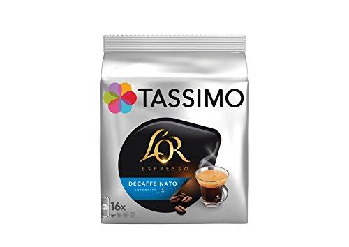 TASSIMO L'Or Espresso Décaféine 16 Disc - Lot de 5 (80 Disc)