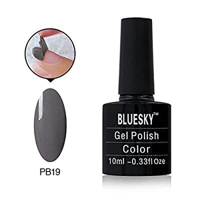 Bluesky Peel Off Series Nail Polish Number PB19, Hello Mr Grey 10 ml by Bluesky