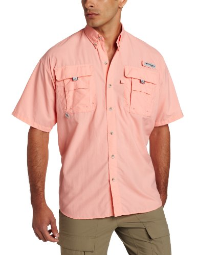 Columbia - Chemise casual - Manches Courtes - Homme Rose - Rose