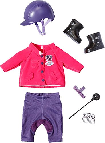 Zapf BABY born Pony Farm Deluxe Reit-Outfit