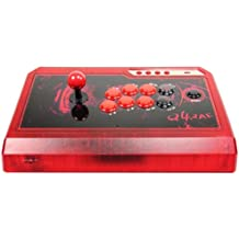Manette Arcade Fighting Stick 3In1 Raf Ice Red Pour PS3/ Xbox 360/ Pc [Importación Francesa]