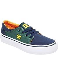 DC Boys' Trase TX Skate Shoe, Multi, 1 M US Little Kid