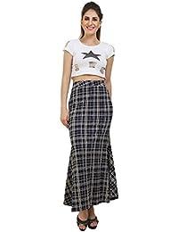 FRANCLO Women's Fish-cut style Skirt (30-34 waist)