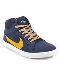 JK PORT Mens New Canvas Casual Shoe