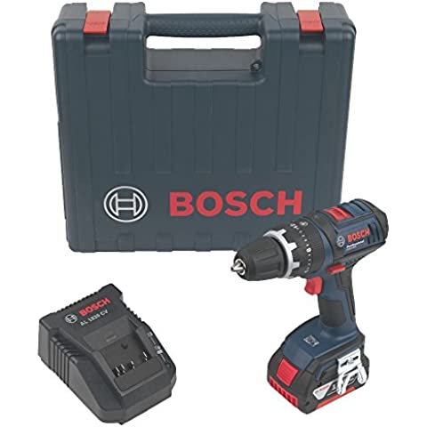 Bosch GSB1800 Trapano avvitatore con percussione 1x18V 3Ah Li-ion +