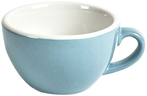 ACME ACL-083 Cappuccino Cup, 190 mL, Blue (Pack of 6)