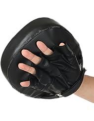 Manoplas curvas, sondereu Manoplas Manoplas de entrenamiento Target Cajas Kickboxing Kick Pads Thaipads, negro