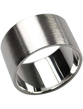 Bildschöner 12 mm breiter mattierter 925er Silberring