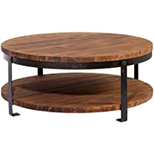 table basse bois style industriel. Black Bedroom Furniture Sets. Home Design Ideas