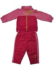 Reebok 578 Jogging - Conjunto para niños unisex, color rosa, talla 18-24M