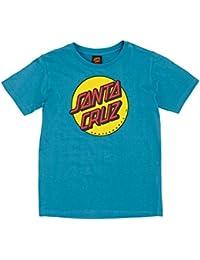 Camiseta niño Santa Cruz Classic Dot Azul