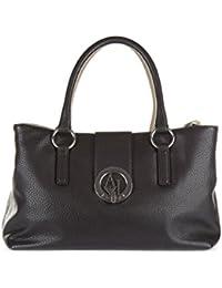 Armani Jeans bolso de mano para compras mujer nuevo negro