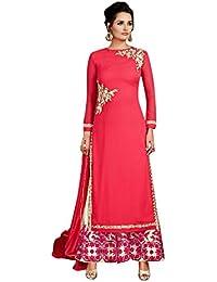 Vestido de fiesta de diseño Vestido de Salwar kameez Vestido de novia indio de Bollywood indowestern
