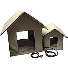 Petnap - Caseta de Mascotas con calefacción para Perro, Gato o Cachorro (tamaño Mediano