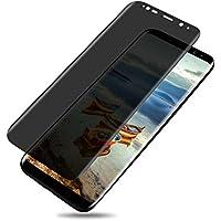 Galaxy S8 Protector de pantalla, ártico Galaxy S8 privacidad Protector de pantalla, S8 privacidad Anti-Spy de cristal templado [3d curvo] [funda con] [anti-scratch] Film Protector de pantalla para Samsung Galaxy S8