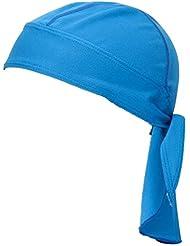 ba112423c7ef4 L-Peach Pirata Gorra Bandana Pañuelo Sotocasco de Cabeza para Ciclismo  Secado Rápido Transpirable Azul