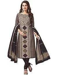 Jevi Prints Women's Cotton Dress Material