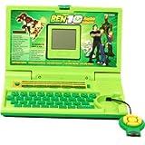 Imptra Ben10 English Leaner Laptop For Kids 20 Activities (Green)