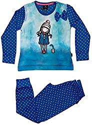 SANTORO GORJUSS Pigiama Compatibile Bambina 54497 Azul/Blue