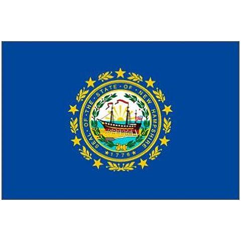 NEW HAMPSHIRE Stato (USA) Bandiera 1,5x 0,9m