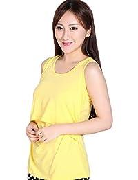 Tongshi Embarazada ropa de maternidad de enfermería Tops La lactancia materna del chaleco de la camiseta