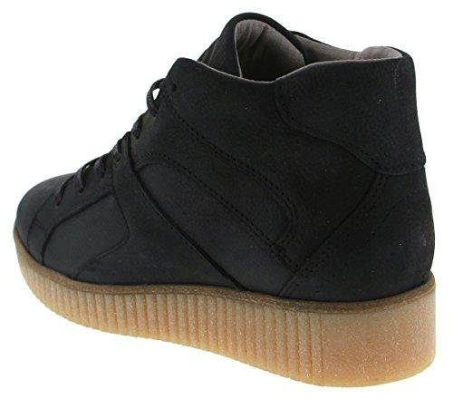BULLBOXER  932500e5l, Chaussures de ville à lacets pour femme blck