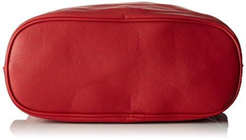 Little Marcel - Id03, Borse a spalla Donna Rosso (Red)