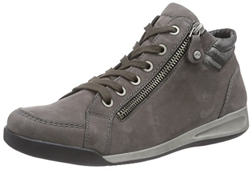 ara-rom-womens-hi-top-sneakers-gray-streetgun-11-5-uk-38-eu