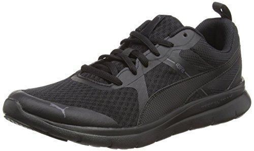 Puma Unisex-Erwachsene Flex Essential Sneaker, Schwarz Black 09, 43 EU