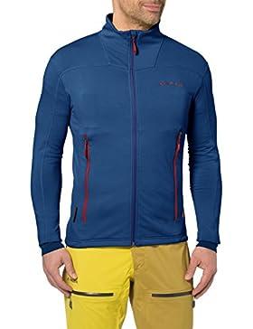 VAUDE Jacke Mens Valbona Jacket - Forro para hombre, color azul, talla M