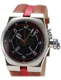 D&G Dolce&Gabbana Herren-Armbanduhr ZANGO BLK DIAL BROWN STRAP DW0196