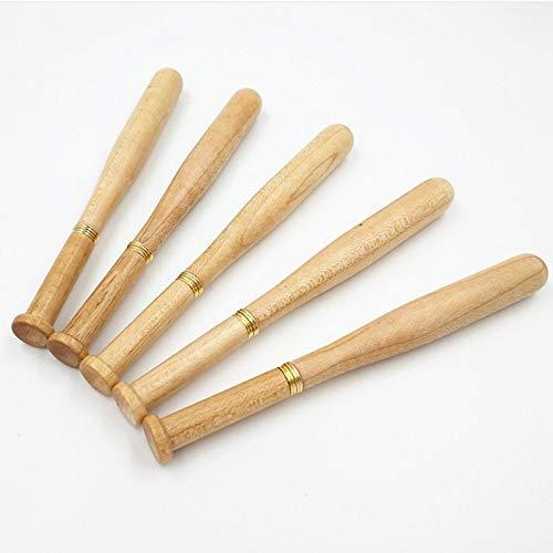 HNGQHJPZ 1 Block Farbiger Ahorn-Baseball-Kugelschreiber für Geschäft und Schule