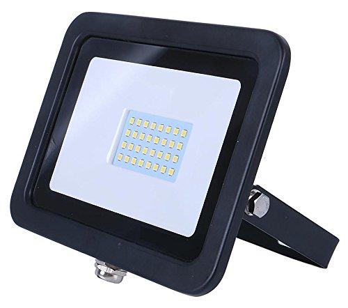 RA LED SMD 20W Projecteur - 6000k - Noir