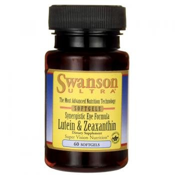 Swanson Ultra Synergistic Eye Formula Lutein & Zeaxanthin (60 Softgels) from Swanson Health Products