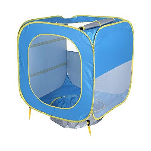 Pop up Baby Strand Zelt Spiel Zelt UPF50 + Sonnenschutz Shelter für Jungen Mädchen Familie Graden Camping Strand Zeit