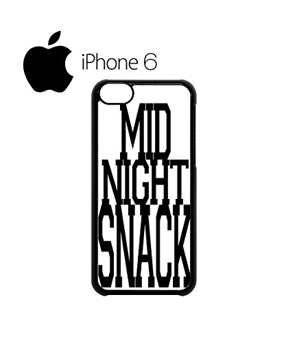 Mid Night Snack Cool Swag Mobile Phone Case Back Cover Hülle Weiß Schwarz for iPhone 6 White Schwarz