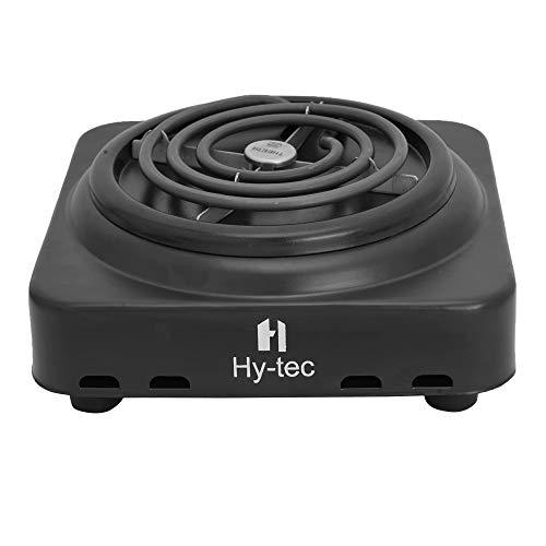 Hy-tec 1000 W Theeta Metal Electric Hot Plate Handy Coil Induction Cooktop (Black)